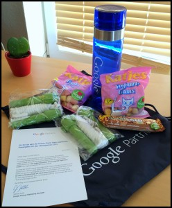 Fitness-Geschenk-Paket für Platz 40 des Google Partner Grand Slams 2014