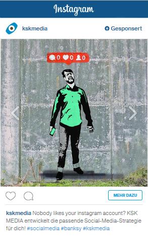 Instagram Anzeige Bild 1