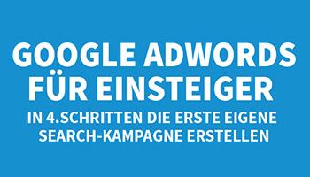 Google AdWords für Einsteiger